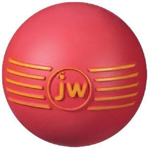 JW Pet Isqueak Ball Small Dog Toy Rubber Squeaker Free SHIP to The USA