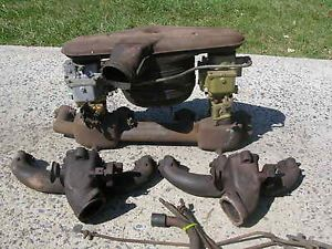 1941 42 Buick Dual Carb Setup Complete for 248 Engines