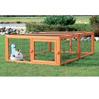 Large Mesh Covered New Puppy Dog Cat Pet Animal Cage Outdoor Exercise Run Kennel