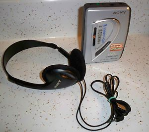 Sony Am FM Radio Cassette Player Walkman Wm FX197