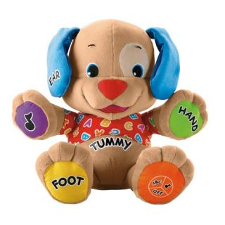 Fisher Price Laugh Learn Baby Puppy Musical Dog EC