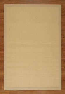 Wilton 8x10 Ivory Large 100 Natural Sisal Area Rug Carpet New