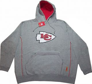 Kansas City Chiefs NFL Team Apparel Pullover Hoodie Sweatshirt Big Tall Sizes