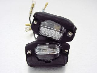 85 98 Mazda B Series B2200 Ford Raider Courier Truck Rear License Plate Light