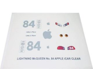 For Pixar Cars Custom Lightning McQueen Apple Icar Decal Set