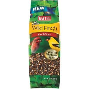 Kaytee Ultra Wild Finch Blend 13 Ounce Sock New Feeders Seed Bird Food Birds