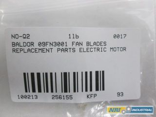 New Baldor 09FN3001 Fan Blades Replacement Parts Electric Motor D256155