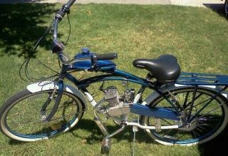 Schwinn Motorized Bike Motor Bike 80cc 2 Stroke Gas Engine
