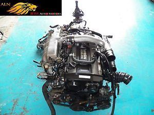 Nissan Skyline GTS r33 2 5L Turbo SII Engine Transmission Wiring ECU JDM RB25DET