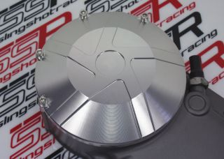2011 Ducati Monster 1100 EVO Silver Engine Clutch Cover