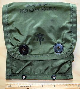 Military Army First Aid Kit Individual Medical Instrument Supply Set Pouch Case