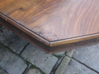 Antique Vintage Art Deco Table Great Shape for Restoration Project