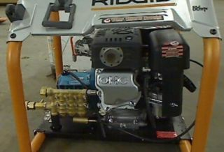 Ridgid 3000 PSI 2 6 GPM Gas Pressure Washer Cat Pump and Subaru Engine $599 99