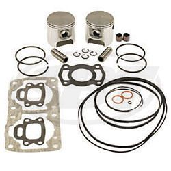 SeaDoo 580 587 XP SPx SP GTS GTX Sea Doo Top End Engine Rebuild Piston Kit 1 5