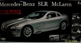 Mercedes Benz SLR McLaren Diecast Model Sports Car
