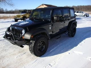 2009 Jeep Wrangler Unlimited Black Ops Package 4x4 4WD 4 Door Automatic Soft Top