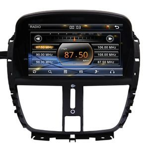 Peugeot 207 207cc Car GPS Navigation System DVD Player