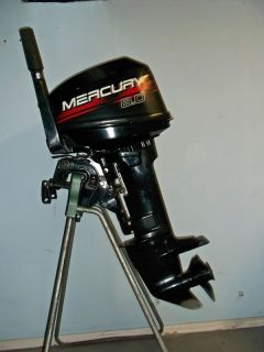 1998 Mercury 8 HP Outboard Motor 9 9 Tiller Water Ready Clean Boat Engine 15
