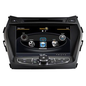 Autoradio Car DVD Player GPS Navigation Radio Hyundai Santa FE 2013 IX45 3G WiFi