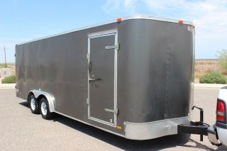 Forest River Continental Cargo 24 Foot Enclosed Trailer Car Hauler Race Arizona