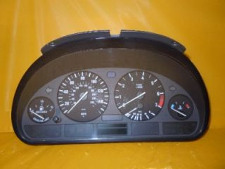 98 99 00 01 02 03 BMW 525i 530i Speedometer Instrument Cluster Panel 168 607