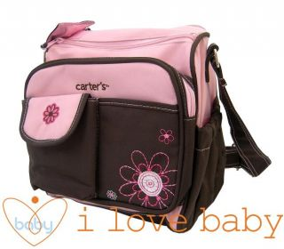 Small Flower Baby Diaper Nappy Changing Bag Pink