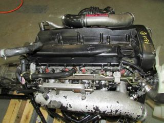 JDM Nissan Skyline RB26DETT r33 Engine and 5 Speed AWD Transmission 94 98 GTR