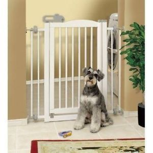 Richell One Touch Pet Gate White Dog Gate Door 94160