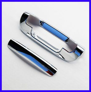 99 04 Jeep Grand Cherokee Chrome Tailgate Rear Door Handle Cover Hatch Lift Gate