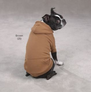 Zack Zoey Fleece Dog Hoodie Sweatshirt Coat Jacket