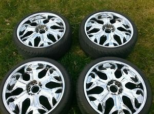 20 inch Rims and Tires Chrome 20inch Rims and Tires