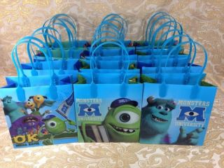12x Disney Nickelodeon Goodie Bags Party Favor Bags Gift Bags Birthday Bags