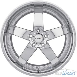 19x8 TSW Rockingham 5x120 35mm Chrome Rims Wheels inch 19""
