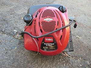 Briggs and Stratton 6 75 HP Electric Start Lawn Mower Engine Motor