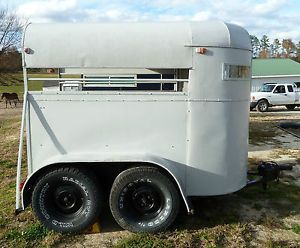Older BP Horse Pony Livestock Trailer Recently Refurbished
