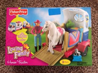 Fisher Price Loving Family Horse Trailer Brand New