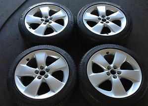 17'' Toyota Prius V Alloy Wheels Rims Michelin Tires 16 18 Corolla Matrix