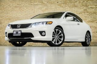 2013 Honda Accord Coupe EX L One Owner Two Tone Leather Only 1 621 Miles