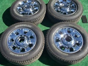 "2014 Ford F250 F350 Super Duty Factory Chrome 20"" Wheels Michelin Tires 2005 14"