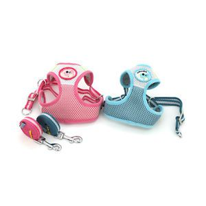 Cute Mini Pets Dog Harness and Leash WONPET AB1001