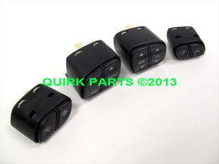 GM 4 Piece Wheel Radio Control Switch Set Brand New Genuine