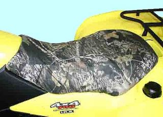 ATV Quad Seat Cover Kit Camo or Black Style Made in USA