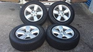"2013 Dodge RAM 1500 Factory 20"" Wheels Goodyear P275 60R20 Tires New Takeoff"