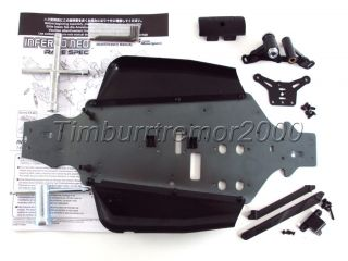 New Kyosho Inferno Neo Race Spec Chassis Parts Set w Servo Saver IF130BK MP7 5