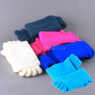 1 Pair Health Massage Toe Japanese Five Separator Toes Socks for Bunion Care