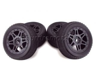 Kyosho Inferno Neo St Race Spec Truggy Pre Glued Wheels Tires Fits 17mm Hubs