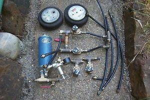 Air Bag Suspension Kit Set Hot Rod Rat Rod Lowrider