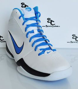Nike Air Quick Handle Mens Basketball Shoes White Blue Black New