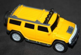 WSL 150 H2 Hummer Humvee SUT SUV Toy Trucks Scale Model Friction Toys Yellow New