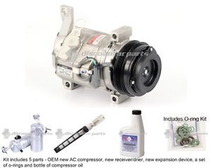 New Genuine Denso A C AC Compressor Kit Chevy GMC Trucks SUVs Hummer H2
